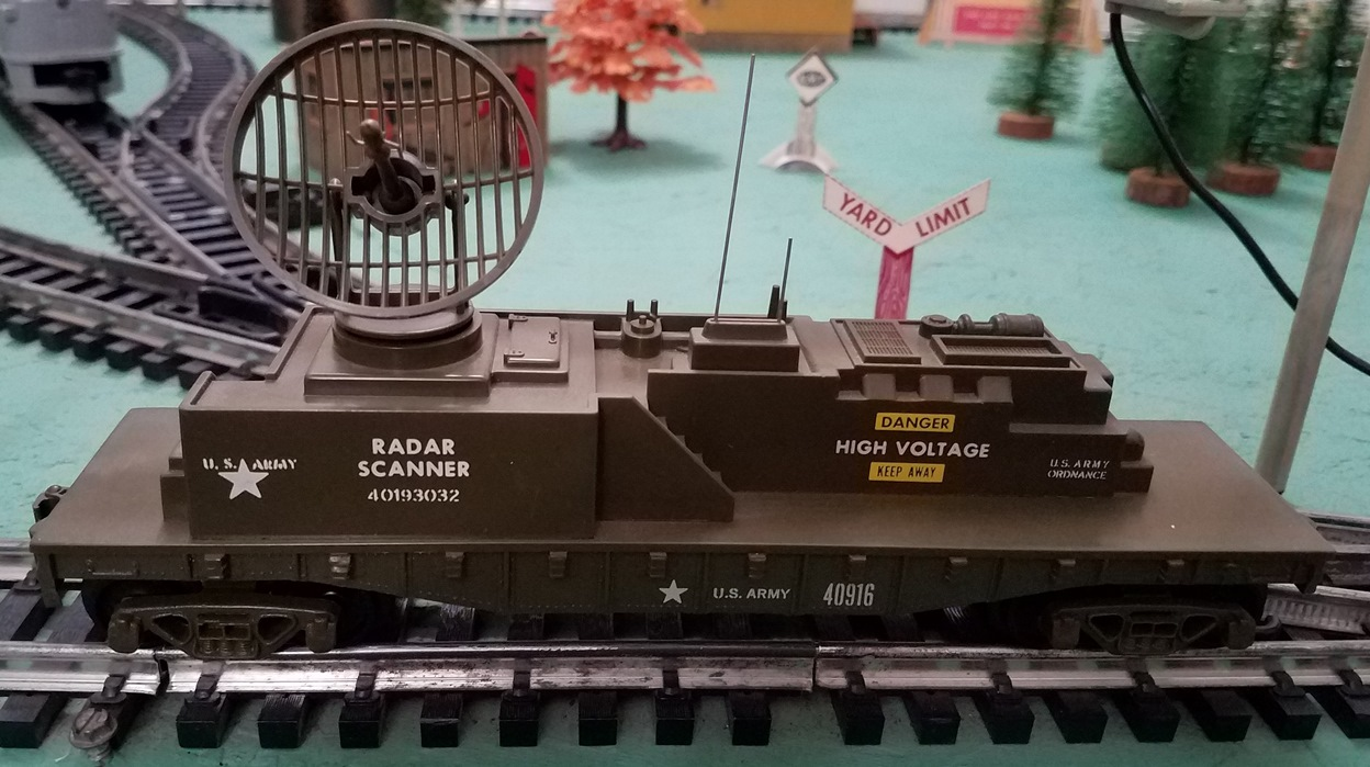 U.S. Army Radar Scanner