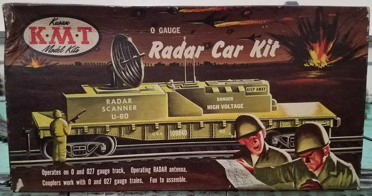 Radar Car Kit box