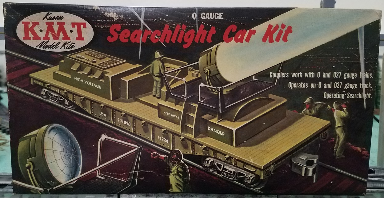 Searchlight Car Kit box