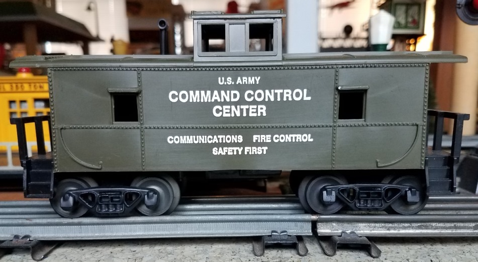 Williams Attack Force Command Control Center Caboose