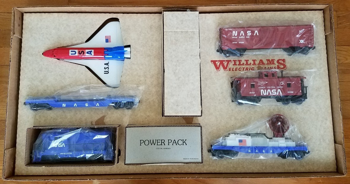 Williams NASA Space Shuttle Transporter Set # 2320 components