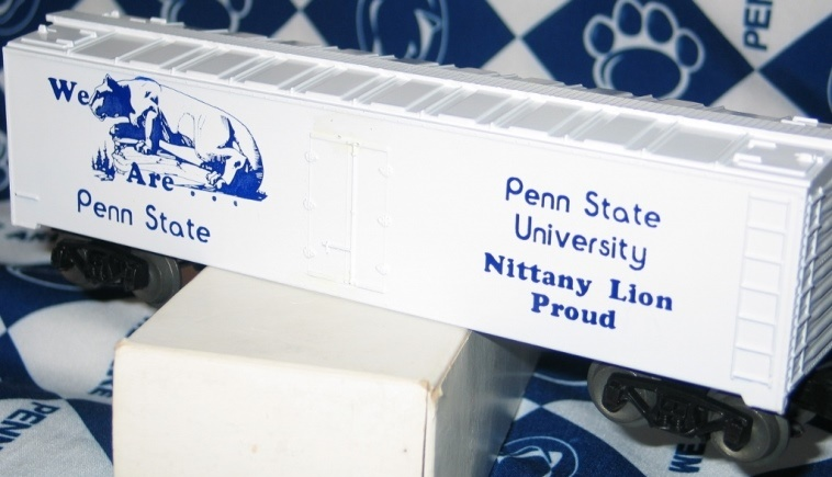 Penn State Nittany Lion Proud refrigerator car