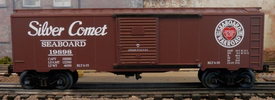 Williams Seaboard Air Line boxcar