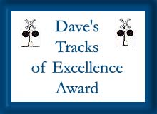 Dave's Tracks of Excellence Award