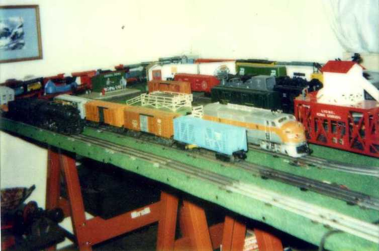 My second west coast layout with different rolling stock