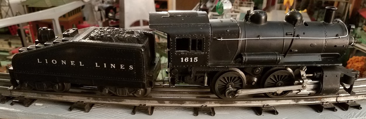 Lionel Postwar 1615 0-4-0 steam locomotive