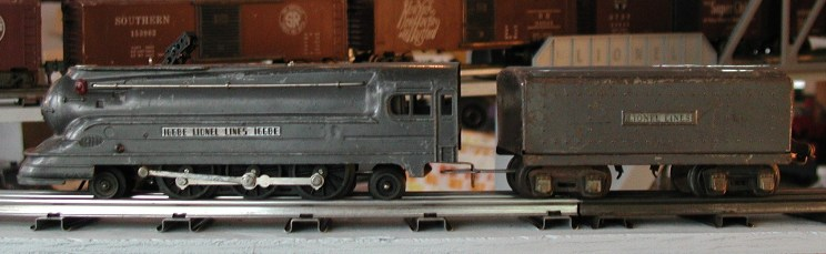 Lionel prewar 1668E steam locomotive