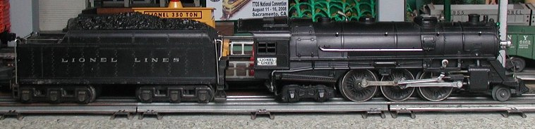 Lionel prewar 226 steam locomotive