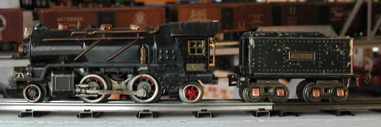 Lionel prewar 262 steam locomotive