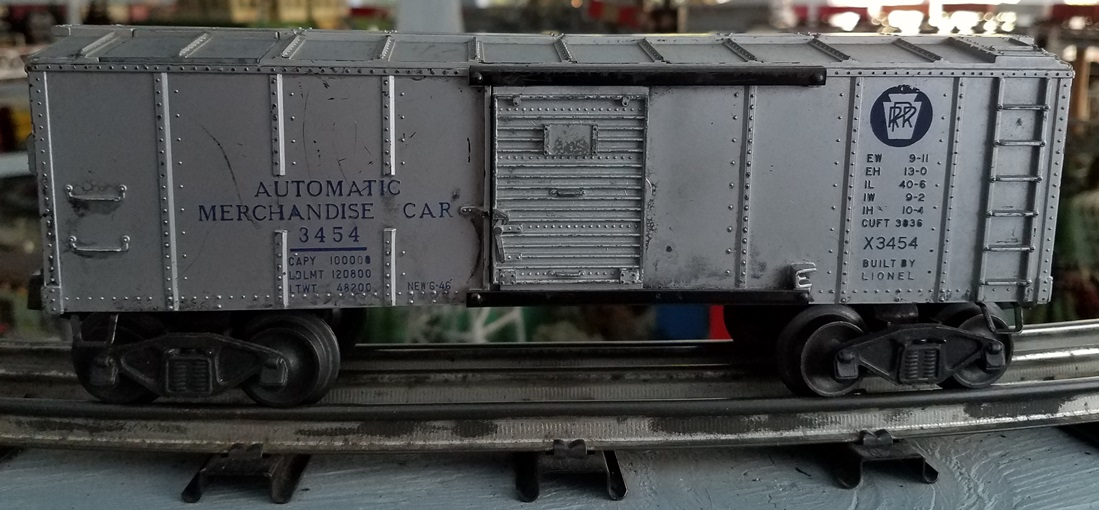 Lionel Postwar 3454 Automatic Merchandise Car
