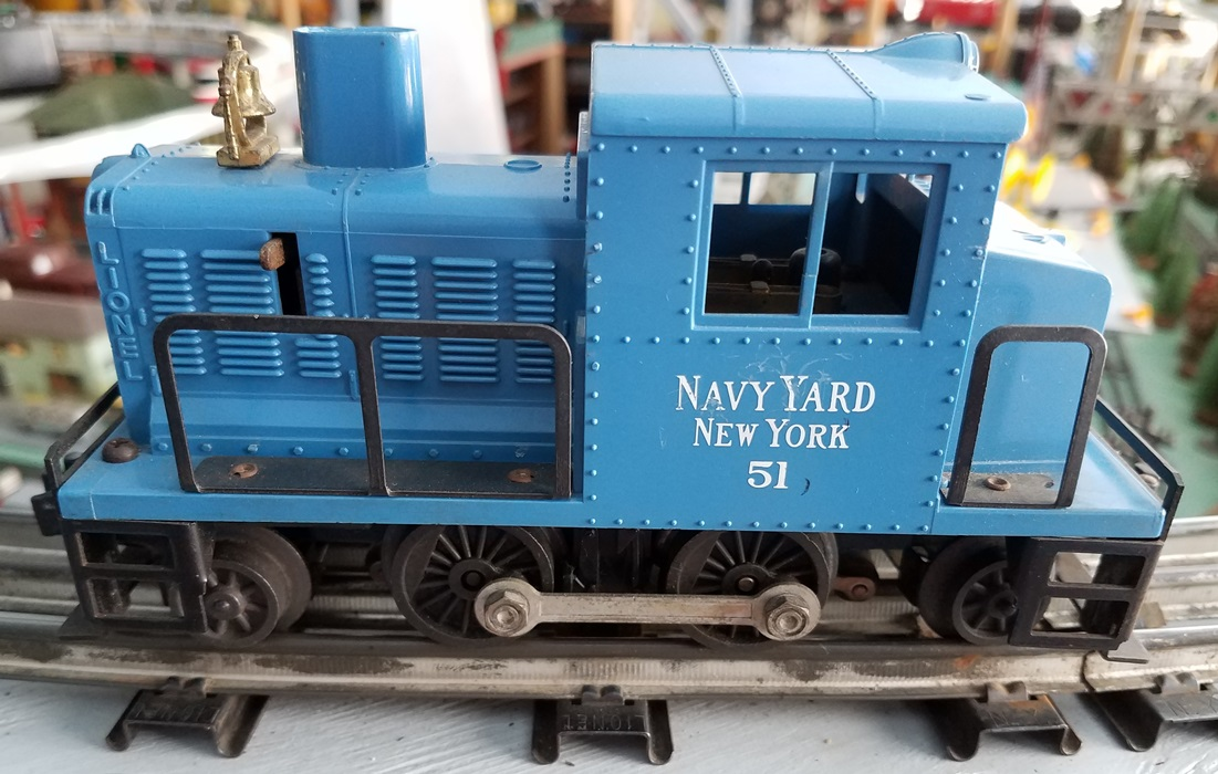 Lionel Postwar 51 Navy Yard New York switcher