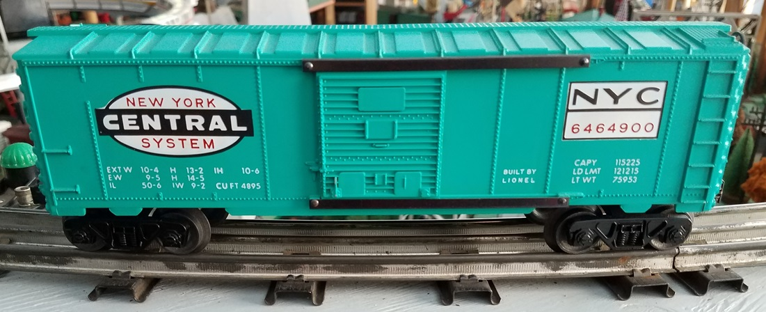 Lionel Postwar 6464-900 New York Central boxcar