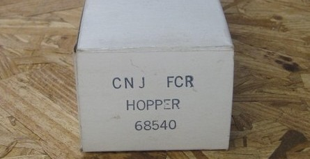 Frank's Roundhouse CNJ freight car red hopper box end