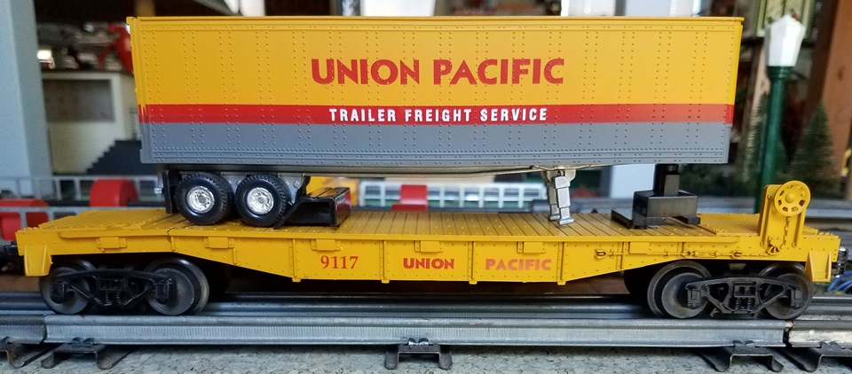 Frank's Roundhouse Union Pacific TOFC