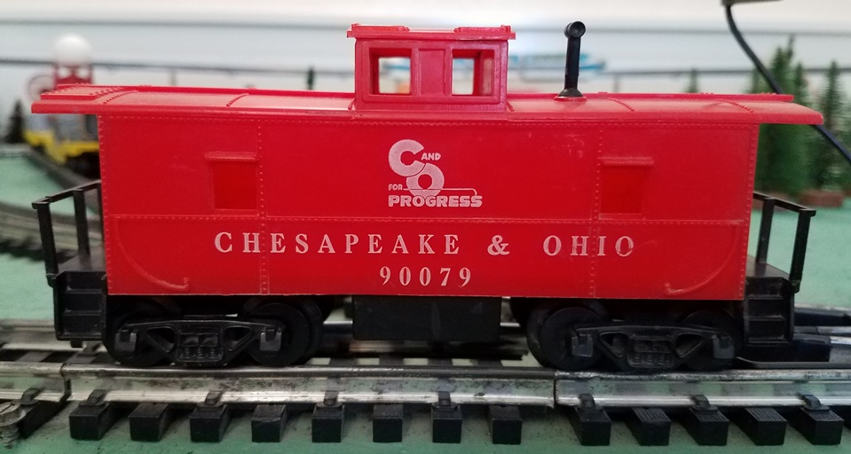 Chesapeake and Ohio caboose