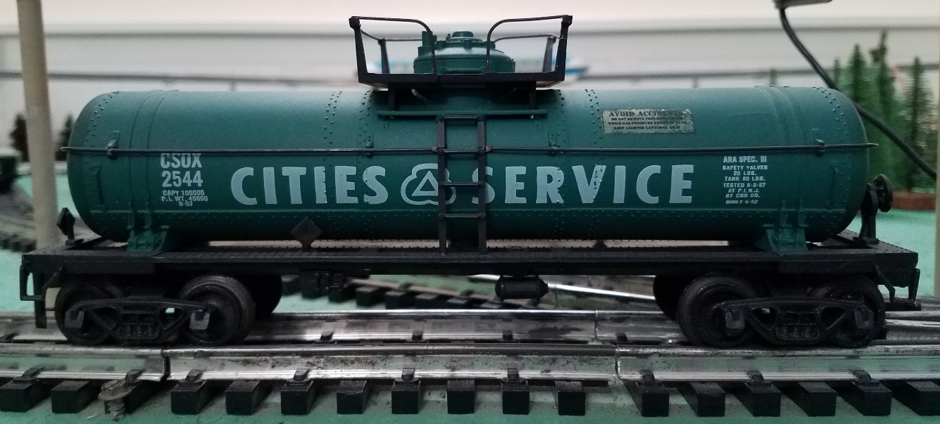 Cities Service tank car
