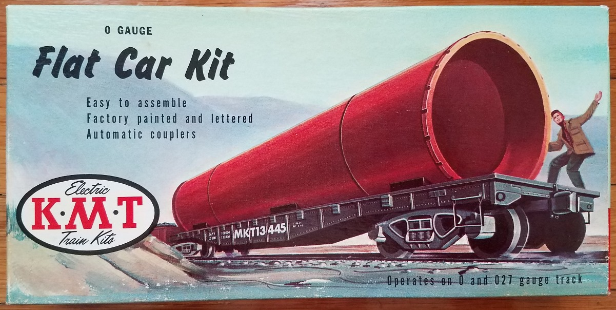 Flat Car Kit box