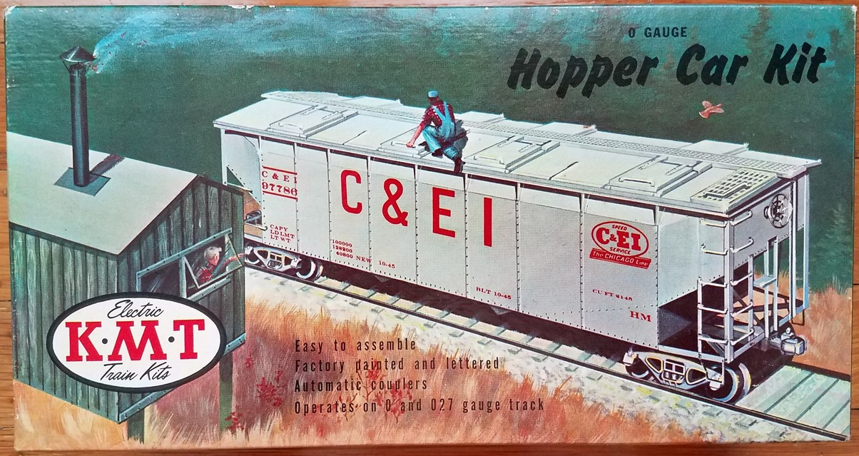 Hopper Car Kit box