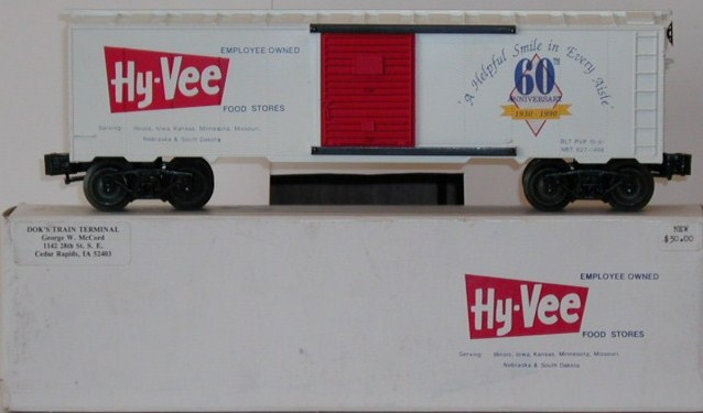 NBT Hy-Vee Grocery boxcar