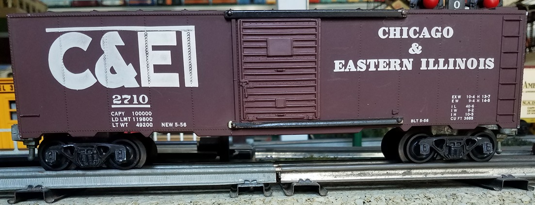 Chicago & Eastern Illinois boxcar
