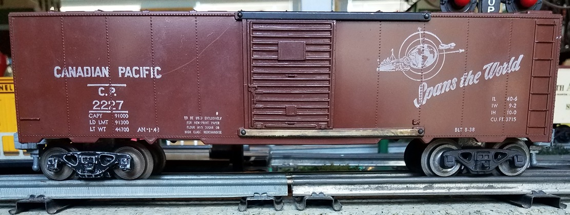 Canadian Pacific boxcar