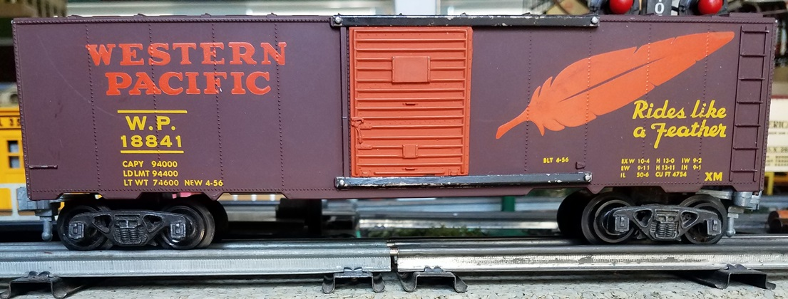 Western Pacific boxcar