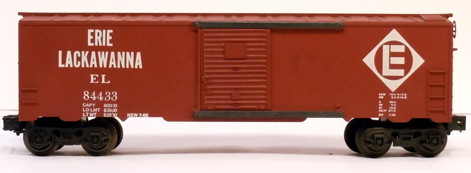 Kris Erie Lackawanna 84433 boxcar red boxcar