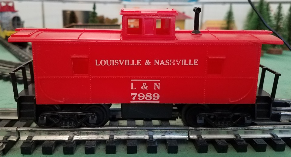 Louisville and Nashville caboose