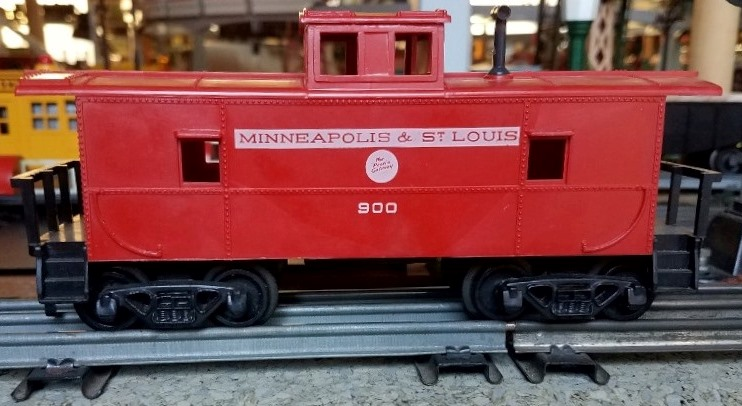 Minneapolis and St. Louis caboose