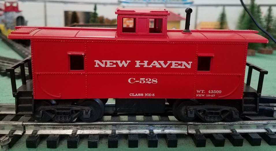 New Haven caboose