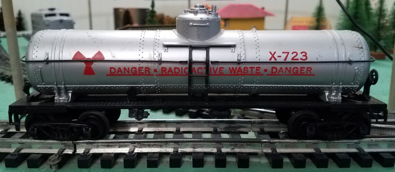 Radioactive Waste tank car