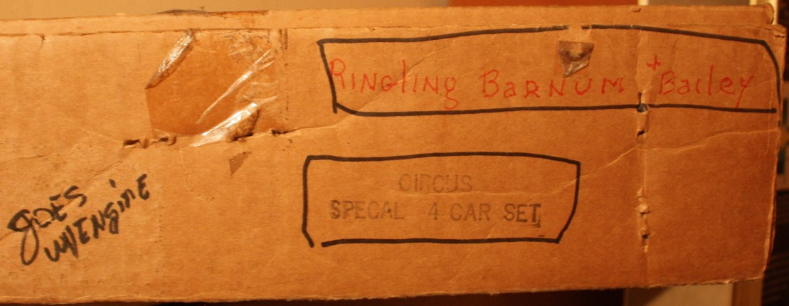 Ringling Brothers and Barnum & Bailey Circus Set box