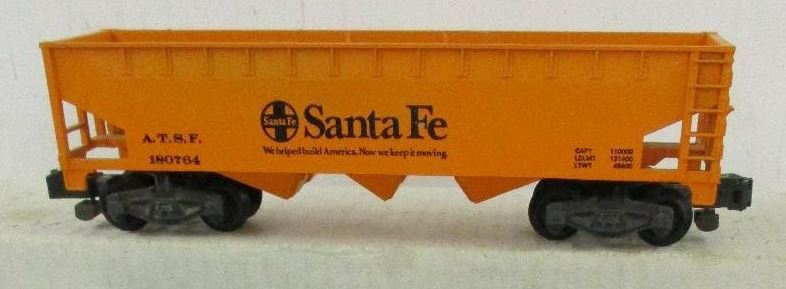 Kris S gauge Santa Fe 180764 orange hopper