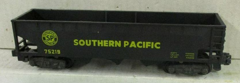 Kris S gauge Southern Pacific 75219 black hopper