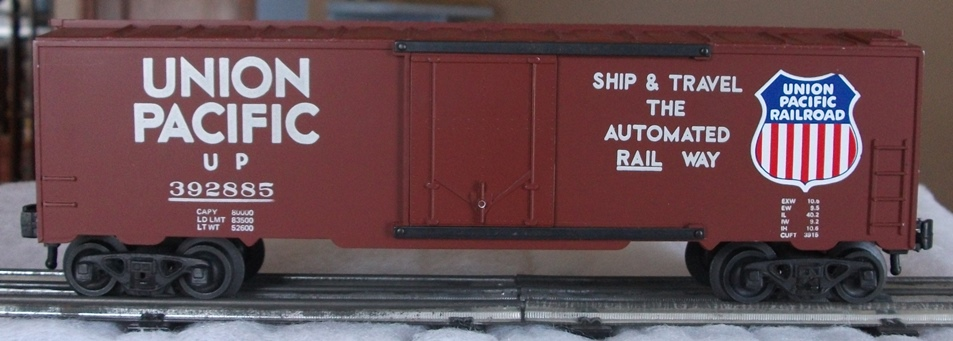 Kris Union Pacific 392885 boxcar with half ladders