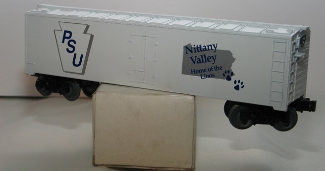 PSU Nittany Valley refrigerator car