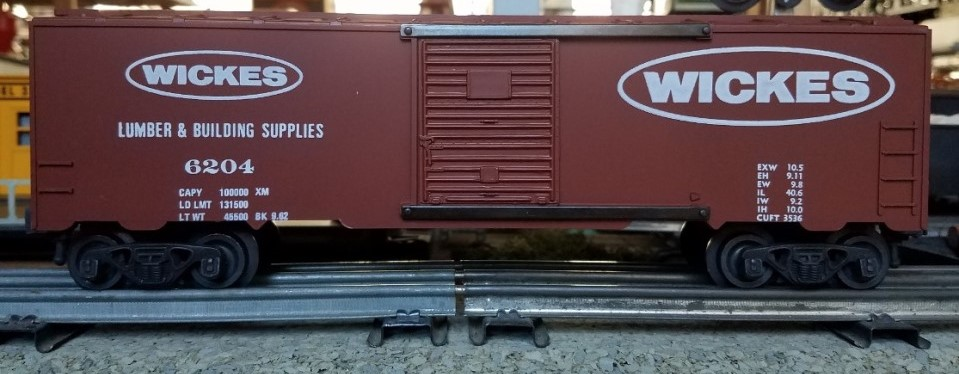 Kris Wickes Lumber boxcar - panel doors
