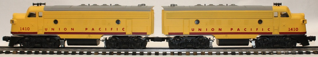 Williams Union Pacific F-7 AA units without nose decals